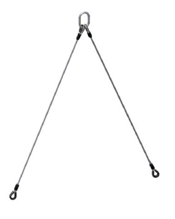 2 Leg Bridle Slings 125 HT-HT IWRC